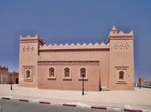 versión moderna del casbah antiguo, Zagora, Marruecos Imagen de archivo