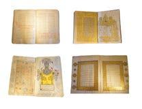 Versi islamici nella calligrafia araba Immagini Stock