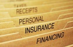 Versicherung Lizenzfreies Stockbild