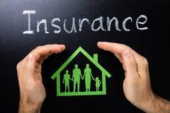 Versicherung der Familie Lizenzfreie Stockbilder