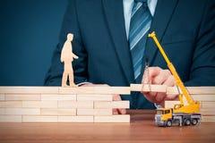 Versicherung, Kundenbetreuung und Unterstützung stockfotografie