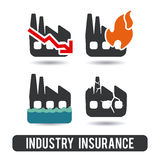 Versicherungsdesign Stockfoto