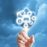 Versicherungsdienste lizenzfreies stockfoto