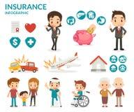 Versicherungsgeschäft Lizenzfreie Stockfotografie