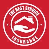 Versicherungsikone Lizenzfreie Stockfotos