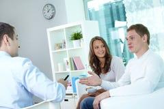 Versicherungsmakler Lizenzfreies Stockfoto