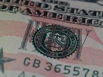 Versiegeln Sie von den $50 Bill 1 Stockbilder