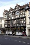 Versieht Hotel in Ludlow mit Federn lizenzfreies stockfoto