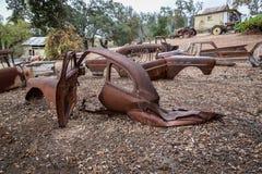Versieringen Oude Scrappers stock fotografie