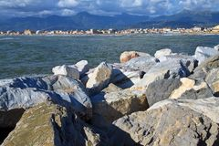 Versilia Royalty Free Stock Photo
