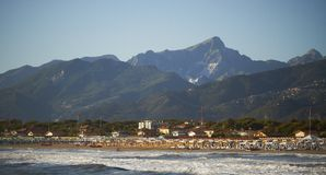 Versilia coast Stock Photos