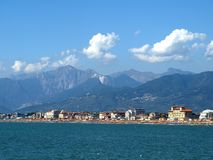 Versilia coasts Stock Photography