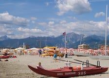 Versilia, Toscane Photo stock