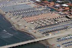 Versilia, viareggio, Italië Stock Afbeelding