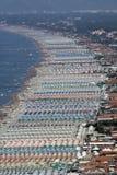 Versilia, viareggio, Italia Fotografia Stock Libera da Diritti