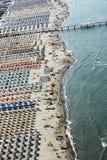 Versilia, viareggio, Italia Fotografie Stock Libere da Diritti