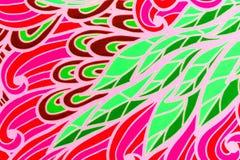 Version artistique des feuilles colorées Photographie stock