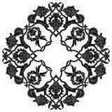 Version artistique noire de la série cinquante-trois de modèle de tabouret illustration de vecteur