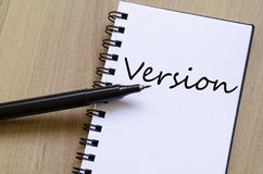 Version Concept Royalty Free Stock Images