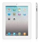 Version neuve de blanc de l'iPad 2 d'Apple Images stock