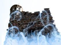 Versione del castello di arte di Digitahi Fotografia Stock Libera da Diritti