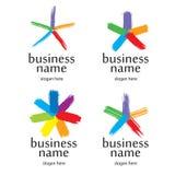 Spazzola di logo della stella Fotografia Stock Libera da Diritti