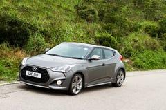 Versione 2013 di Hyundai Veloster Turbo Fotografia Stock