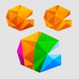 Versiones de la insignia Fotos de archivo libres de regalías