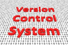 Versionkontrollsystem Arkivbild