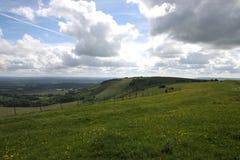 Verslaat platteland Engeland Stock Fotografie