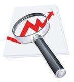 Verslagcontrole Royalty-vrije Stock Fotografie