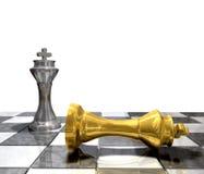 Verslagen koning Royalty-vrije Stock Foto