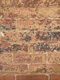Versleten baksteen royalty-vrije stock afbeeldingen
