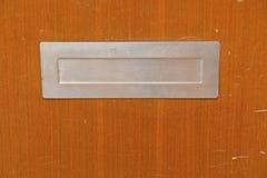 Versleten brievenbus Stock Foto