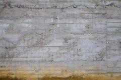 Versleten Concrete Muur Royalty-vrije Stock Foto's