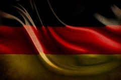 Versleten Duitse vlag royalty-vrije illustratie