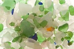 Versleten glas Royalty-vrije Stock Afbeelding