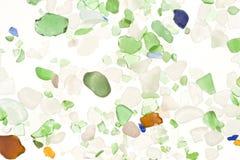 Versleten glas Stock Foto's