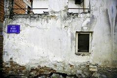 Versleten muur Royalty-vrije Stock Foto's