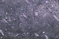 Versleten roestige het staalachtergrond van de metaalplaat Industriële Achtergrond stock foto
