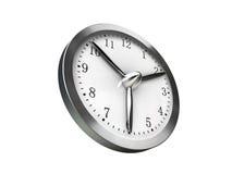 Versnel 3d tijd - geef terug Royalty-vrije Stock Afbeeldingen