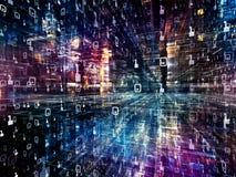 Versnelling van Digitale Wereld Royalty-vrije Stock Afbeelding
