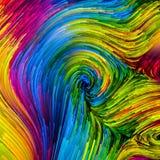 Versnelling van Kleurrijke Verf stock illustratie