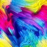 Versnelling van Vloeibare Kleur royalty-vrije illustratie