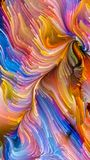 Versnelling van Vloeibare Kleur stock illustratie