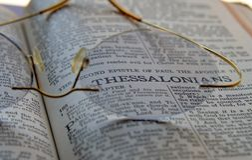 Verso de la biblia foto de archivo