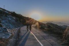 Verso il sol levante Fotografia Stock Libera da Diritti