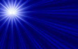 Verso l'indicatore luminoso Fotografia Stock
