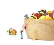 Versorgung oben auf Bonbons lizenzfreie stockbilder