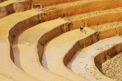 Versorgung Rohwasser für die Felder Lizenzfreies Stockbild